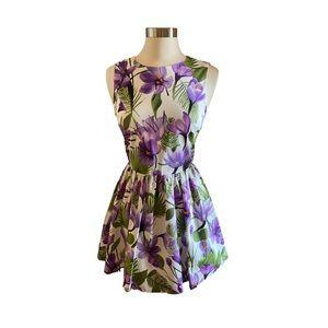 Alice + Olivia Floral Dress NWT